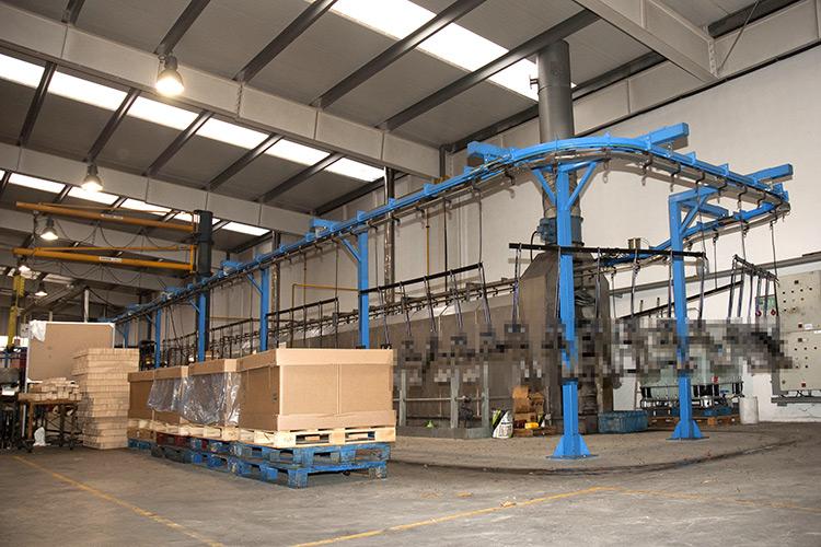 instalaciones y maquinaria